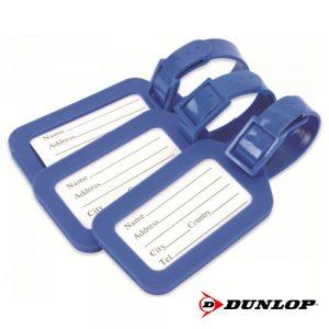 Conjunto Placas De Identificação P/ Bagagens Dunlop - (DUN476)