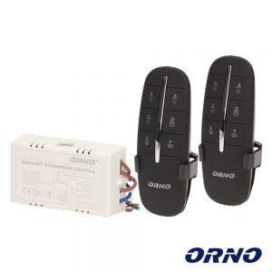 Controlador P/ Iluminação 3 Canais C/ 2 Comandos S/Fios ORNO - (OR-GB-411)