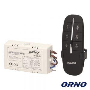 Controlador P/ Iluminação 3 Canais C/ Comando S/ Fios ORNO - (OR-GB-406)