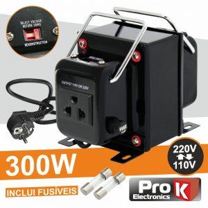 Conversor 110v-220v / 220v-110v 300W PROK - (CONV300W)