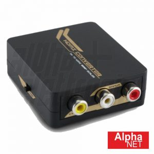 Conversor Sinal Composto + Áudio > HDMI Alphanet - (CT352/6)