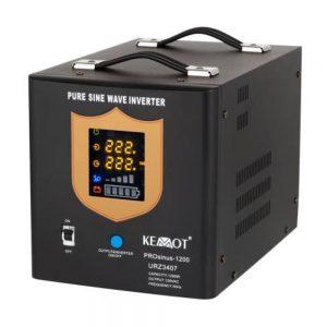 Conversor 12V-230V 1200W Onda Pura - (CONVPURA1200/12(K))