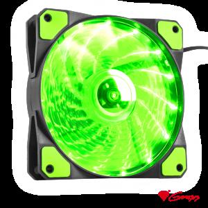 Cooler HYDRON 120 120mm Verde GENESIS - (NGF-1168)