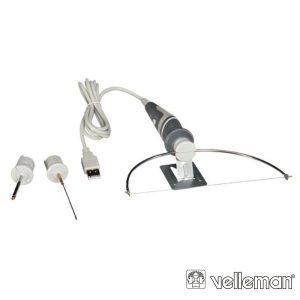 Cortador De Fio Quente USB 3Em1 p/Espuma/Esferovite VELLEMAM - (VTSUSB6)