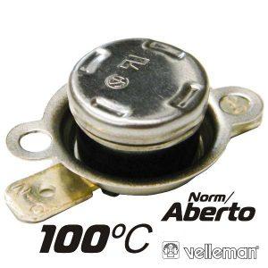 Protector De Circuito Térmico Norm/Aberto 100ºc VELLEMAN - (CPA100)