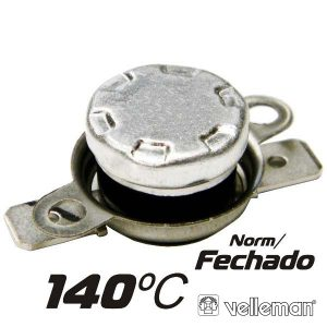 Protector De Circuito Térmico Norm/Fechado 140ºc VELLEMAN - (CPB140)