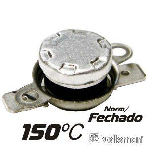 Protector De Circuito Térmico Norm/Fechado 150ºc VELLEMAN - (CPB150)