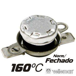 Protector De Circuito Térmico Norm/Fechado 160ºc VELLEMAN - (CPB160)