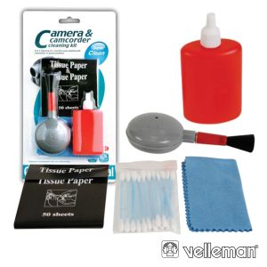 Kit De Limpeza P/ Câmaras VELLEMAN - (CPHN4207)