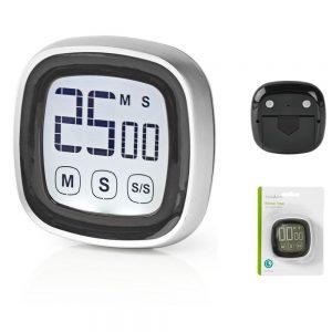 Cronómetro Digital p/ Cozinha Preto - (KATR104BK)