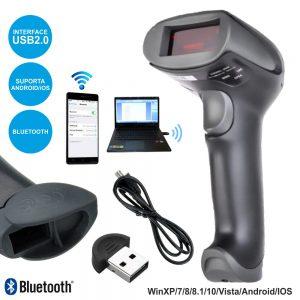 Leitor Código Barras Laser Bluetooth C/ Bateria - (CSCANNER01A)