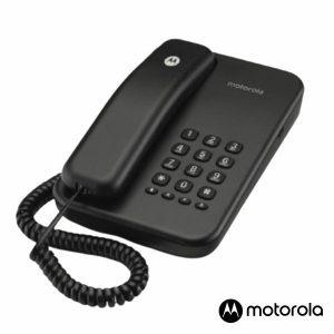 Telefone Fixo Preto CT100 MOTOROLA - (CT100BK)