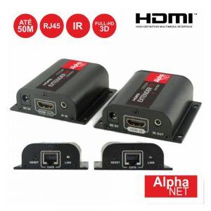 Receptor E Transmissor HDMI Via RJ45 CAT6 50m Alphanet - (CT373/9)