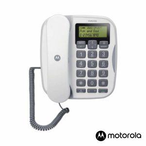 Telefone Fixo Branco CT510 MOTOROLA - (CT510WH)