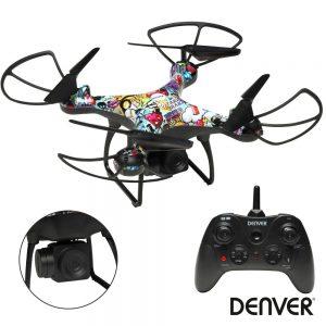 Drone C/ Transmissor 2.4ghz 4 Hélices DENVER - (DCH-350)