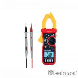 Pinça Amperimétrica Digital AC 600V VELLEMAN - (DCM120)