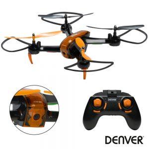 Drone C/ Transmissor 2.4ghz 4 Hélices DENVER - (DCW-360MK2)