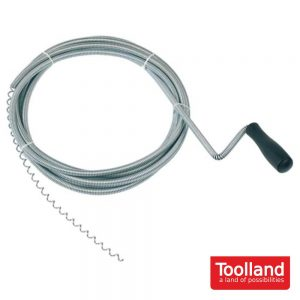 Desentupidor - Ø 9 Mm - 5 M - TOOLLAND - (NI05)