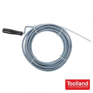 Desentupidor - Ø 9 mm - 10 M - TOLLAND - (NI10)