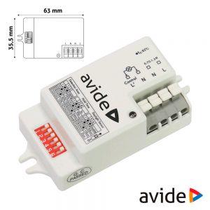 Detector De Movimentos Micro-Ondas P/ Painel LED IP20 AVIDE - (ACLO-SENSOR)
