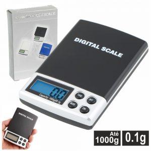 Mini Balança 1000g / 0.1g - (DIGIBAL10A)