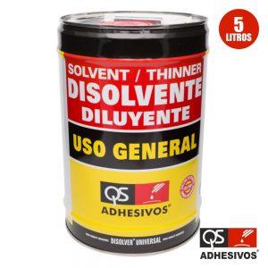 Diluente Universal 5l Qs - (DISOLVER-UNIV2)