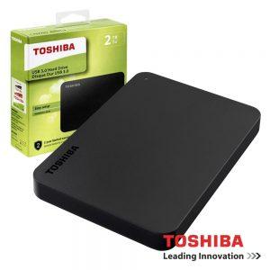 "Disco Externo HDD TOSHIBA CANVIO BASICS 2TB 2.5"" USB3.0 - (HDTB420EK3AA)"