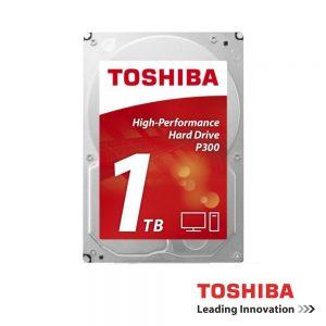 "Disco Rigido Interno HDD P300 Sata III 1TB 3.5"" TOSHIBA - (HDWD110UZSVA)"