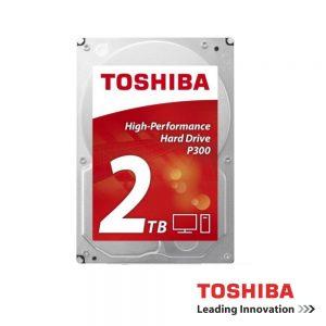 "Disco Rigido Interno HDD P300 Sata III 2TB 3.5"" TOSHIBA - (HDWD120UZSVA)"