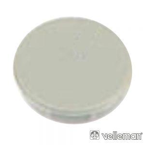 Tampa P/ Botão De 21mm Cinza - (DK21G)