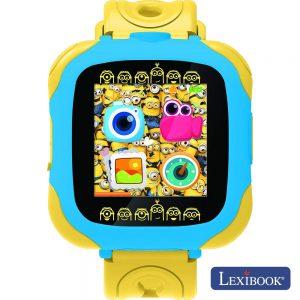 Relógio De Pulso C/ Câmara Visor Largo Minions Lexibook - (DMW100DES)