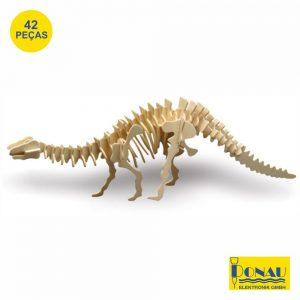 Brontossauro Painéis De Contraplacado C/ 42 Peças Donau - (DNM856-8)