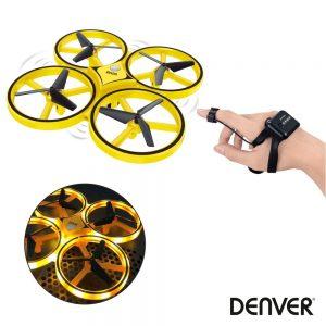 Drone C/ Transmissor de Pulso 4 Hélices DENVER - (DRO-170)