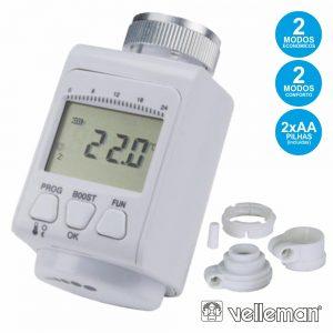 Termostato Digital P/ Radiador VELLEMAN - (DRT1)