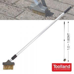 Escova Telescópica P/ 1.0~1.8mt Pavimento TOOLLAND - (DT94004)