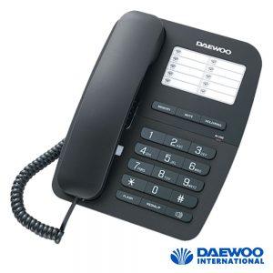Telefone Mesa Analógico C/ Mãos Livres Preto DAWEOO - (DTC-240)