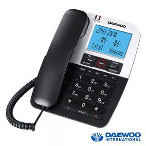Telefone Fixo C/ Visor Largo E Memória DAWEOO - (DTC-410)