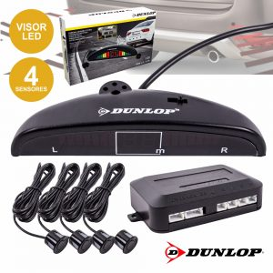 Kit De Estacionamento C/ 4 Sensores E Visor Dunlop - (DUN005)