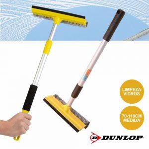 Escova Limpeza Vidros Telescópica 70-110cm Dunlop - (DUN043)