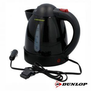 Fervedor De Água Elétrico 12V 150W Preto 0.8L DUNLOP - (DUN080)