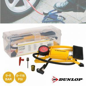 Bomba Manual De Pé C/ Adaptador Dunlop - (DUN111)