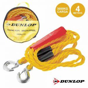Corda Reboque C/ Gancho 3000kg 4m Dunlop - (DUN223)