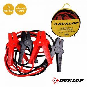 Conjunto Cabos Bateria Arranque 400a 3m Dunlop - (DUN302)