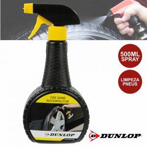 Spray De 500ml Limpeza Pneus Dunlop - (DUN418)