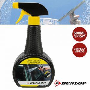 Spray De 500ml Limpeza Vidros Dunlop - (DUN456)