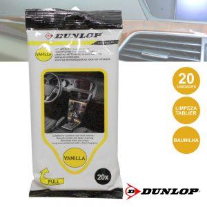 Toalhetes Húmidos P/ Limpeza De Tablier 20x Dunlop - (DUN915)