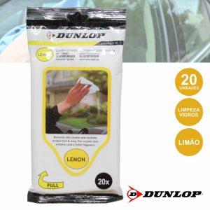 Toalhetes Húmidos P/ Limpeza De Vidros 20x Dunlop - (DUN922)