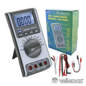 Multímetro C/ Ajuste Automático E Manual De Escalas - (DVM1100)