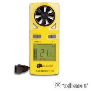 Anemómetro Digital Velleman - (DVM9500)
