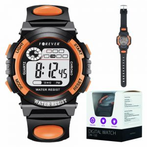 Relógio Digital C/ Alarme Cronómetro À Prova De Água - (DW-100)